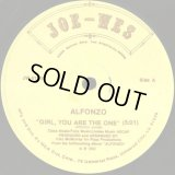 Alfonzo - Girl, You Are The One/Low Down  12""