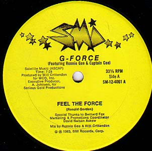 g force feel the force