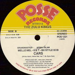画像2: Afrika & The Zulu Kings - Cars  12""