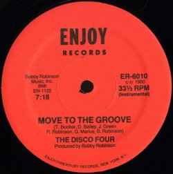 """画像2: The Disco Four - Move To The Groove  12"""""""