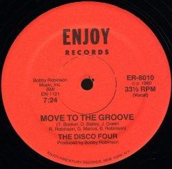 """画像1: The Disco Four - Move To The Groove  12"""""""