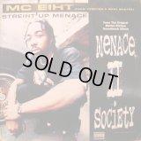 "MC Eiht - Streiht Up Menace  12"""
