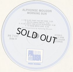 画像2: Alphonse Mouzon - Morning Sun  LP