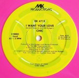 Chic - I Want Your Love/(Funny) Bone  12""