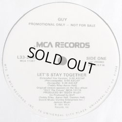 画像1: Guy - Let's Stay Together (6Vers Promo)  12""