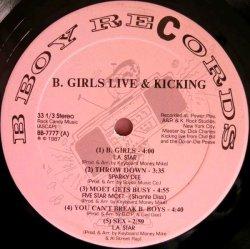 画像2: V.A - B.Girls Live & Kicking  LP