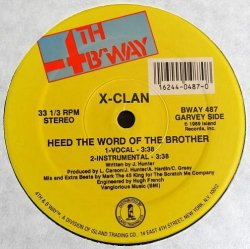 画像1: X-Clan  --  Heed The Word Of The Brother/Raise The Flag  12""