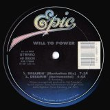 """Will To Power - Dreamin'  12"""""""