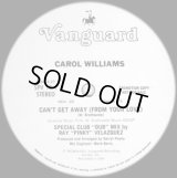 "Carol Williams - Can't Get Away (From Your Love) Special Club ""Dub"" Mix 12"""