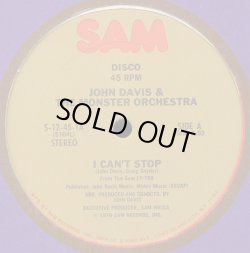 画像1: John Davis & The Monster Orchestra - I Can't Stop/I Get A Kick  12""