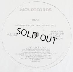 """画像1: Heat - Just Like You (Long Vers 5:56/Short Vers 3:54)  12"""""""