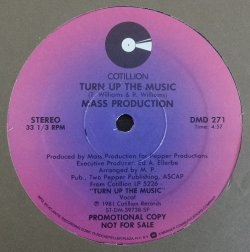 画像1: Mass Production - Turn Up The Music/Bopp  12""