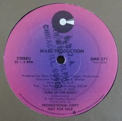 画像2: Mass Production - Turn Up The Music/Bopp  12""