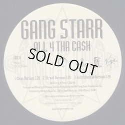 画像1: Gang Starr - All 4 Tha Ca$h/The ? Remainz  12""