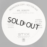 "Styx - Mr. Roboto  12"""
