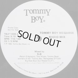 画像1: 3-D - Tommy Boy Megamix  12""