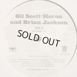 画像1: Gil Scott-Heron & Brian Jackson - The Bottle/Johannesburg  12""