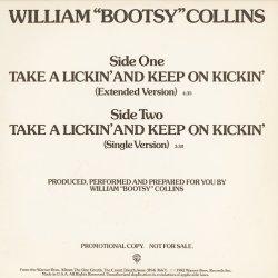 """画像1: (William) Bootsy Collins - Take A Lickin' And Keep On Kickin'  12"""""""