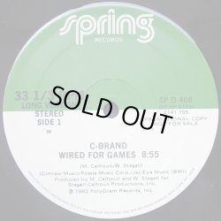 画像1: C-Brand - Wired For Games (Long 8:55/Short 4:07)  12""