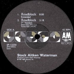 画像1: Stock Aitken Waterman - Roadblock  12""