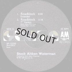 "画像1: Stock Aitken Waterman - Roadblock  12"""