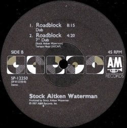 画像2: Stock Aitken Waterman - Roadblock (with Jocelyn Brown ?) 12""