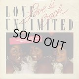 Love Unlimited - Love Is Back  LP
