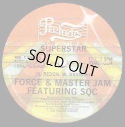 """画像1: Force & Master Jam Featuring SQC - Superstar  12"""""""