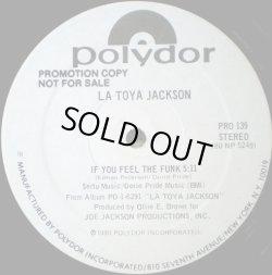 """画像1: La Toya Jackson - If You Feel The Funk/Night Time Lover  12"""""""