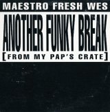 Maestro Fresh Wes - Another Funky Break (From My Pap's Crate)  CDS
