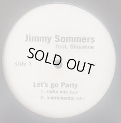 画像1: Jimmy Sommers feat. Ginuwine - Let's Go Party  12""