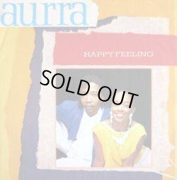 """画像1: Aurra - Happy Feeling/Hooked On You 12"""""""