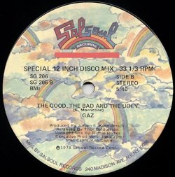 画像2: Gaz - Sing Sing/The Good, The Bad And The Ugly  12""
