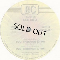 画像1: Bad Girls (feat Jocelyn Brown) - Too Through  12""