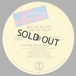 "画像1: Millie Scott - Love Me Right  12"""