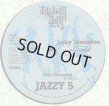 "Afrika Bambaataa & The Jazzy 5/The Kryptic Krew featuring Tina B - Jazzy Sensation  12"""